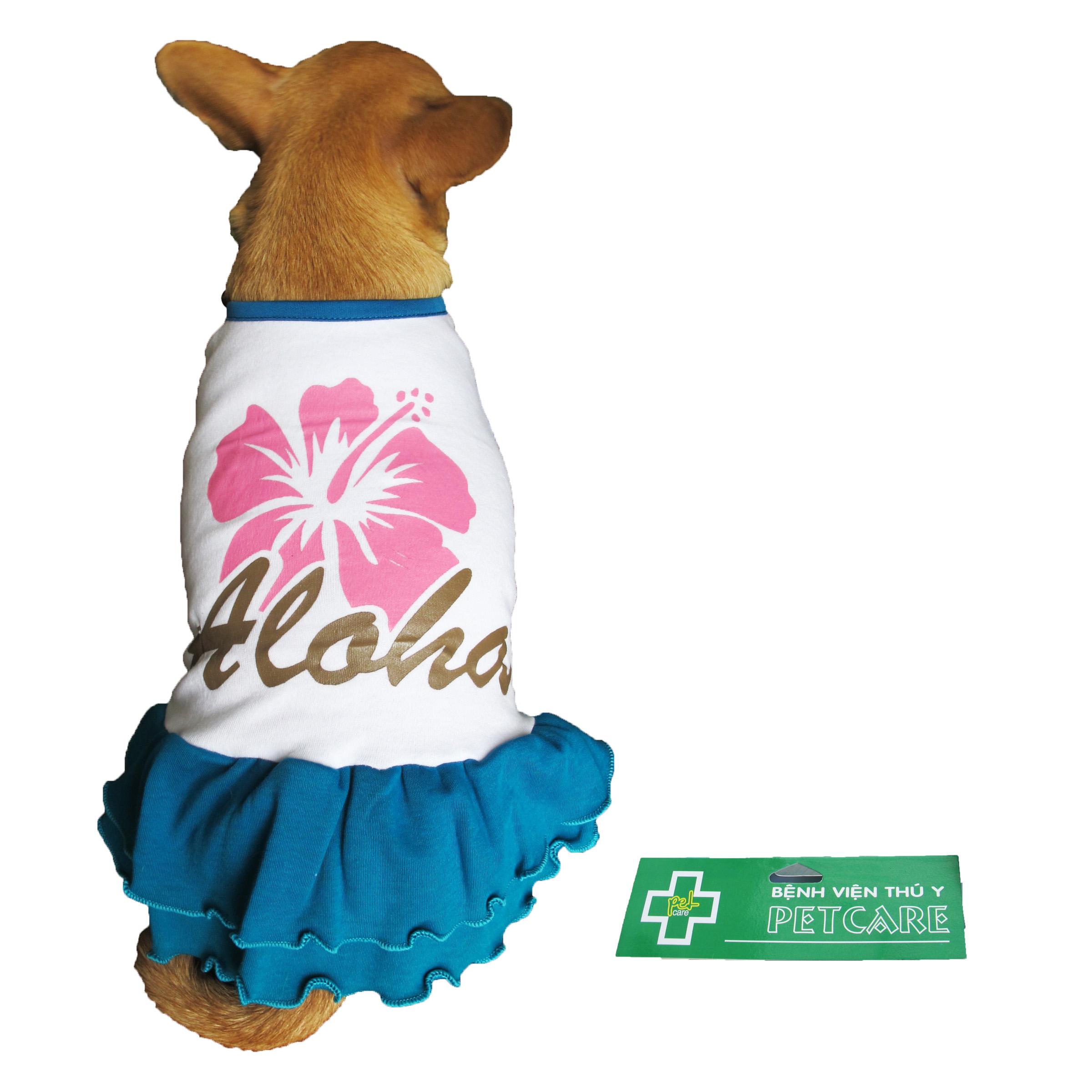 Đầm Aloha cho chó