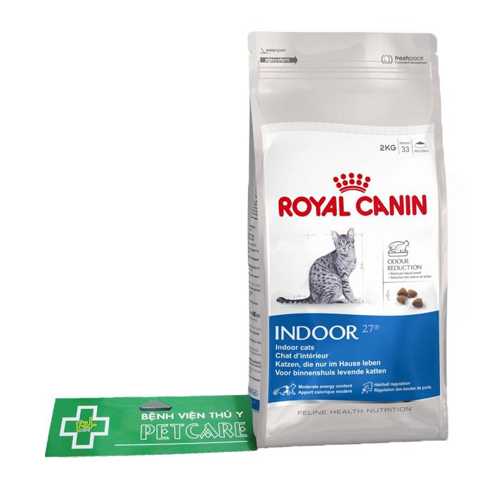 (M) Hạt Royal Canin Indoor 27