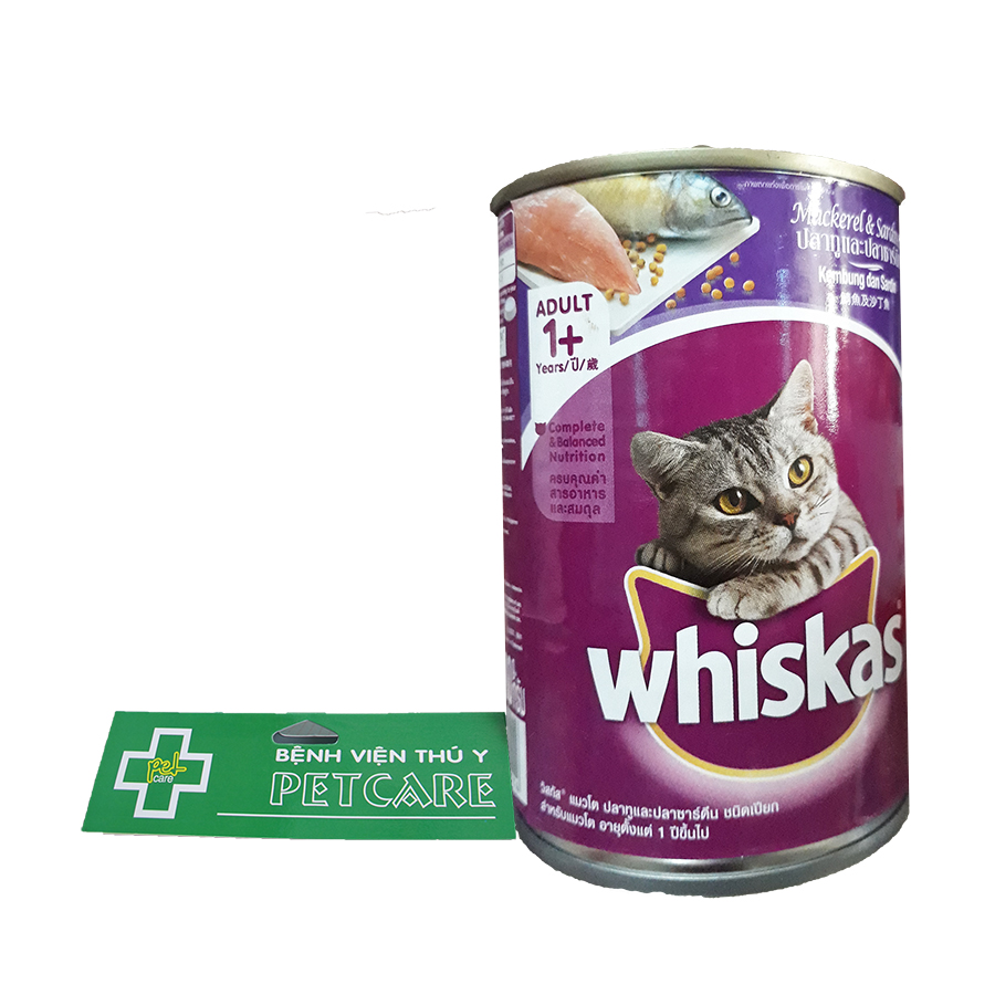 (C) Whiskas mackerel and salmon flavour – canned food