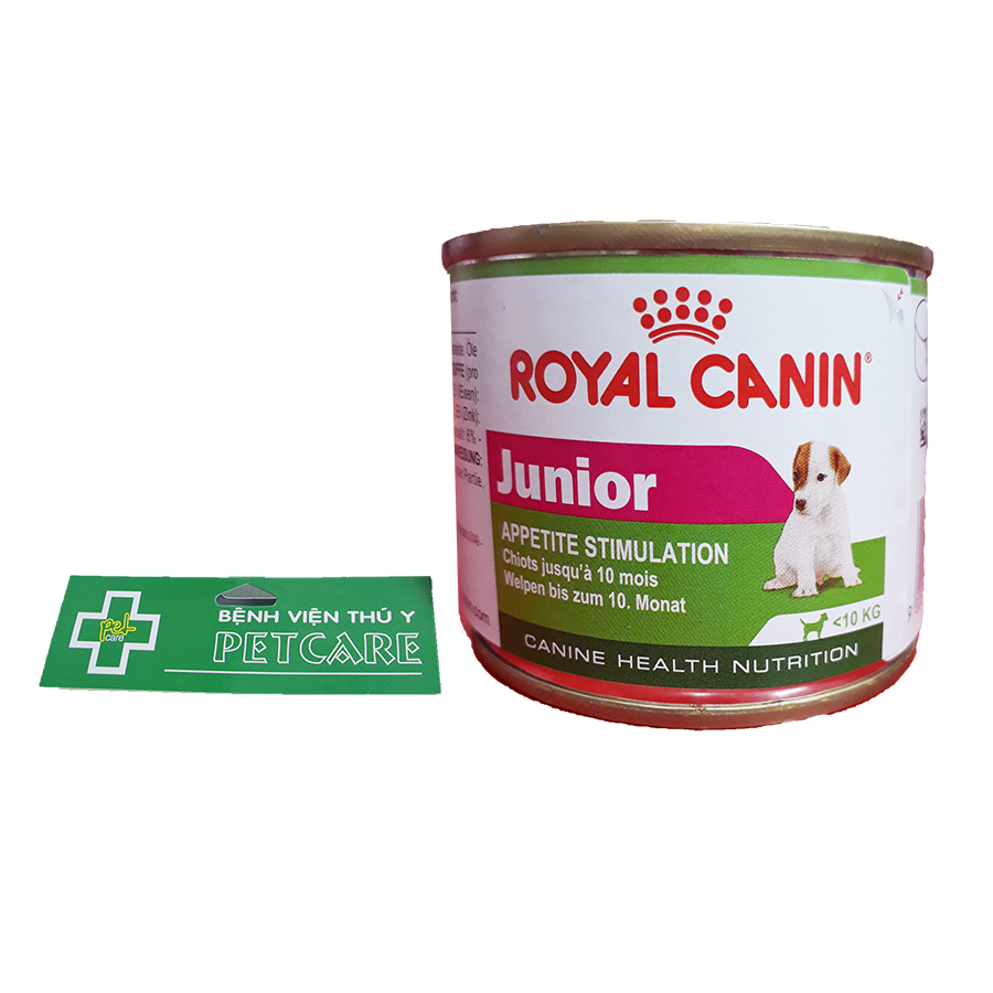 Royal Canin Junior canned dog food