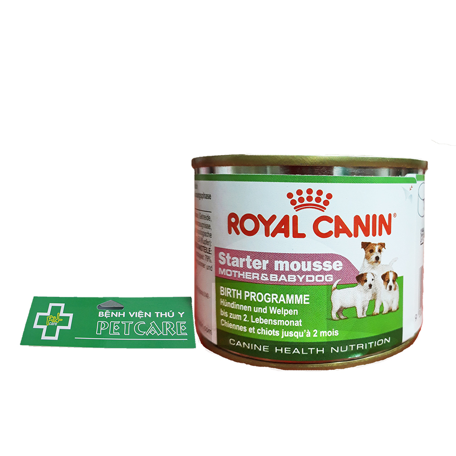 Royal Canin Starter mousse – Mother and Babydog canned food