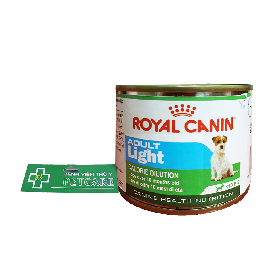 Royal Canin Adult Light – canned dog food
